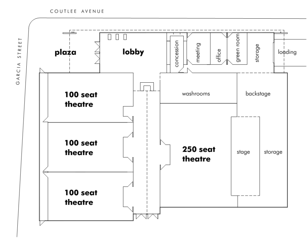Nicola Valley Community Theatre Layout