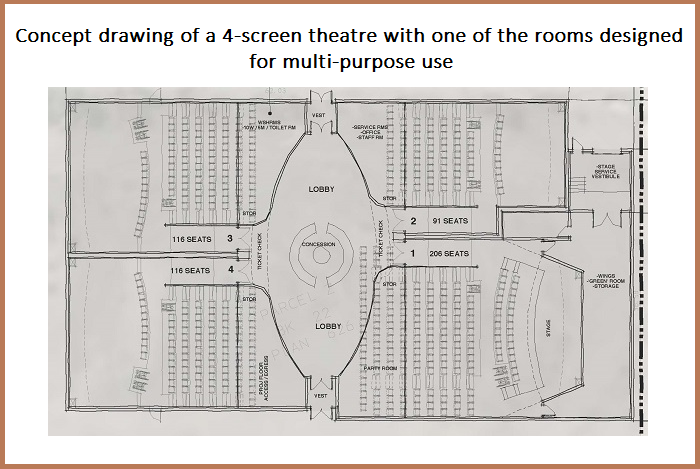 Merritt Movie Theatre Site Plan Nicola Valley Community